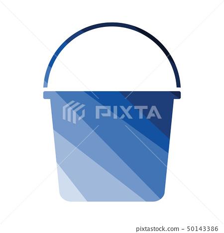 Bucket icon 50143386