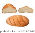 fresh bread set 50143942