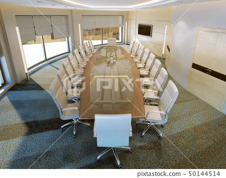 Modern meeting room 50144514