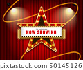 theater sign star vector illustration 50145126