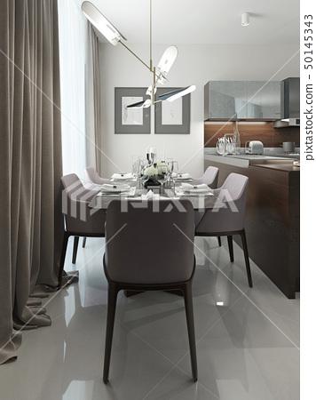 Dining room modern design 50145343