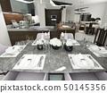 餐具 桌子 桌 50145356