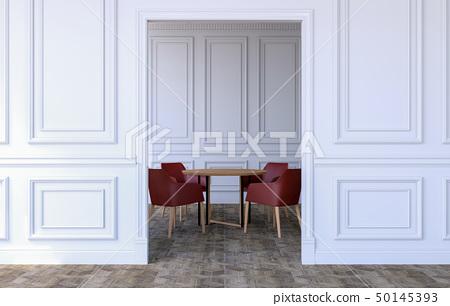 Luxury room interior in modern classical design 50145393