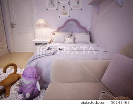 Children's room for girls classic style 50145468