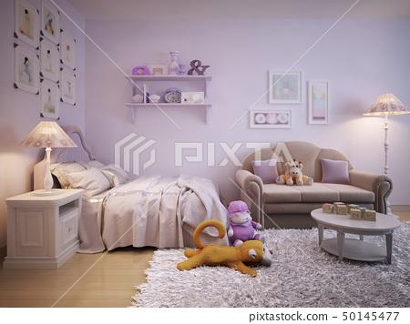 Children's room for girls classic style 50145477