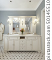Bright bathroom Mediterranean design 50145510