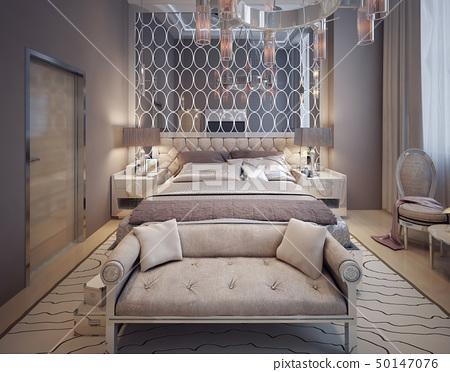 Bedroom in modern style 50147076