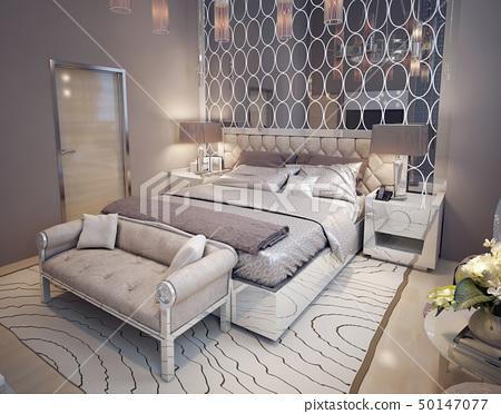 Bedroom in modern style 50147077