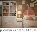 卧室 海洋 床 50147131