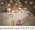 卧室 女孩 少女 50147135