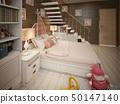 卧室 女孩 少女 50147140