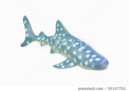 figure toy Whale Shark isolated 50147702