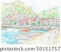 Pier at Capri Island 50151757