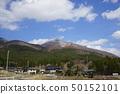 鄉村享有Mount Hayaike山的景色 50152101