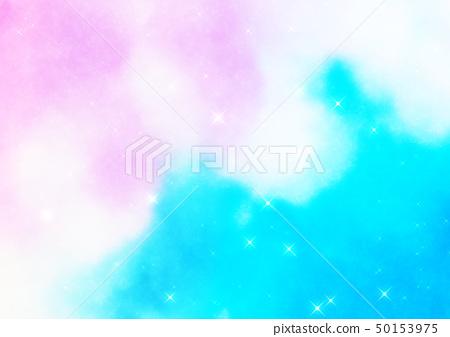 閃耀的星空背景 50153975