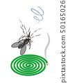 모기향과 모기 mosquito coil and mosquito 50165026