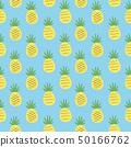 원활한 패턴 파인애플 50166762