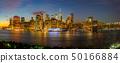 New York City Manhattan skyline panorama 50166884