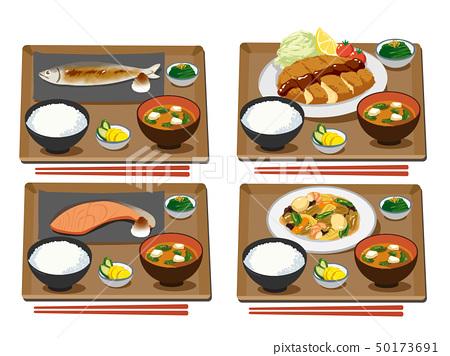 各種固定餐 50173691