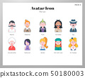 Avatar icon flat pack 50180003