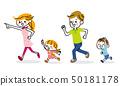 달리는 가족 50181178