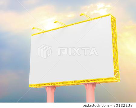 Billboard mockup for advertising 50182138