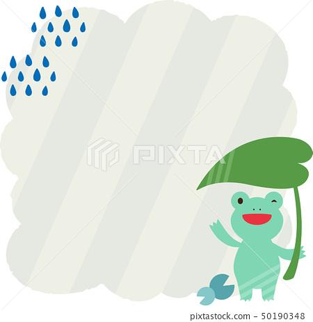 青蛙字符框架(铅材料) 50190348