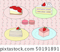 Strawberry sweets 50191891