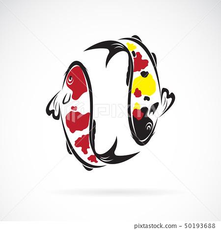 Vector of carp koi fish. Pet. Animal. Icon. 50193688