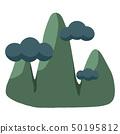 검은 구름과 산 50195812
