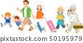 三代家庭外出旅行 50195979