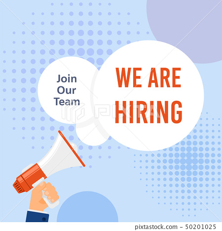 We are hiring 50201025