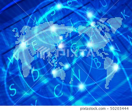 인터넷과 디지털 세계지도 50203444