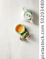 Tea in ceramic teapot 50203480