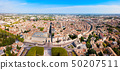 Montpellier aerial panoramic view, France 50207511
