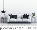 interior modern living room with sofa 50210170