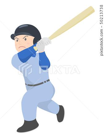 棒球擊球手 50213738