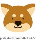 Shiba Inu without outline 50219477