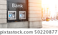 Bank ATM automatic  teller machines for money 50220877