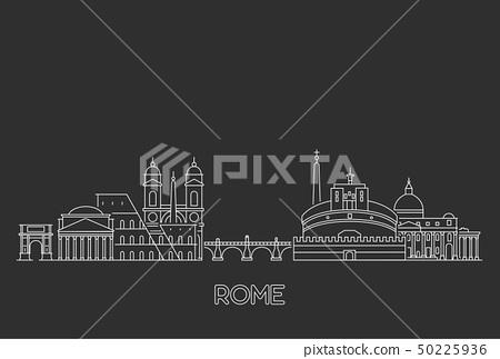 Rome skyline, Italy 50225936