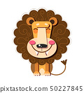Hand Drawn Vector Illustration Of A Cute Funny 50227845
