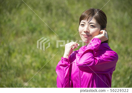 Female Sportswear Wireless Earphone 50229322