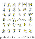 Sport and hobby, icons set for your design 50237934
