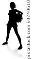 Cheerleader Silhouette 50240610