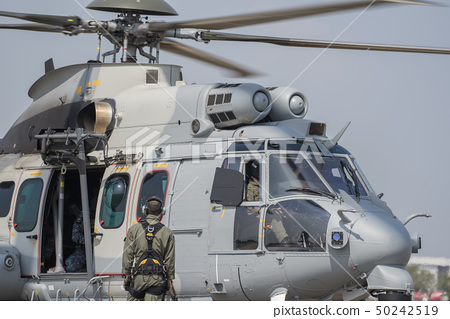 Air helicopter h225m . 50242519