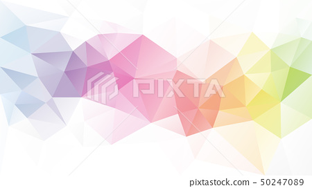 vector abstract irregular polygon background 50247089