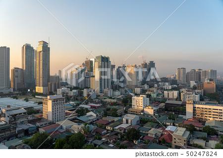 菲律賓都市風景馬尼拉大都會 50247824