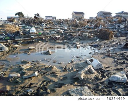 Great East Japan Earthquake Ishinomaki city area 50254449