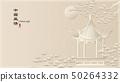 Elegant retro Chinese style background template 50264332