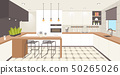 contemporary kitchen interior empty no people house room modern apartment design flat horizontal 50265026